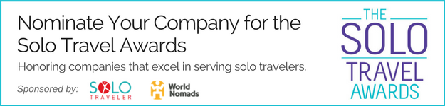 solo travel awards