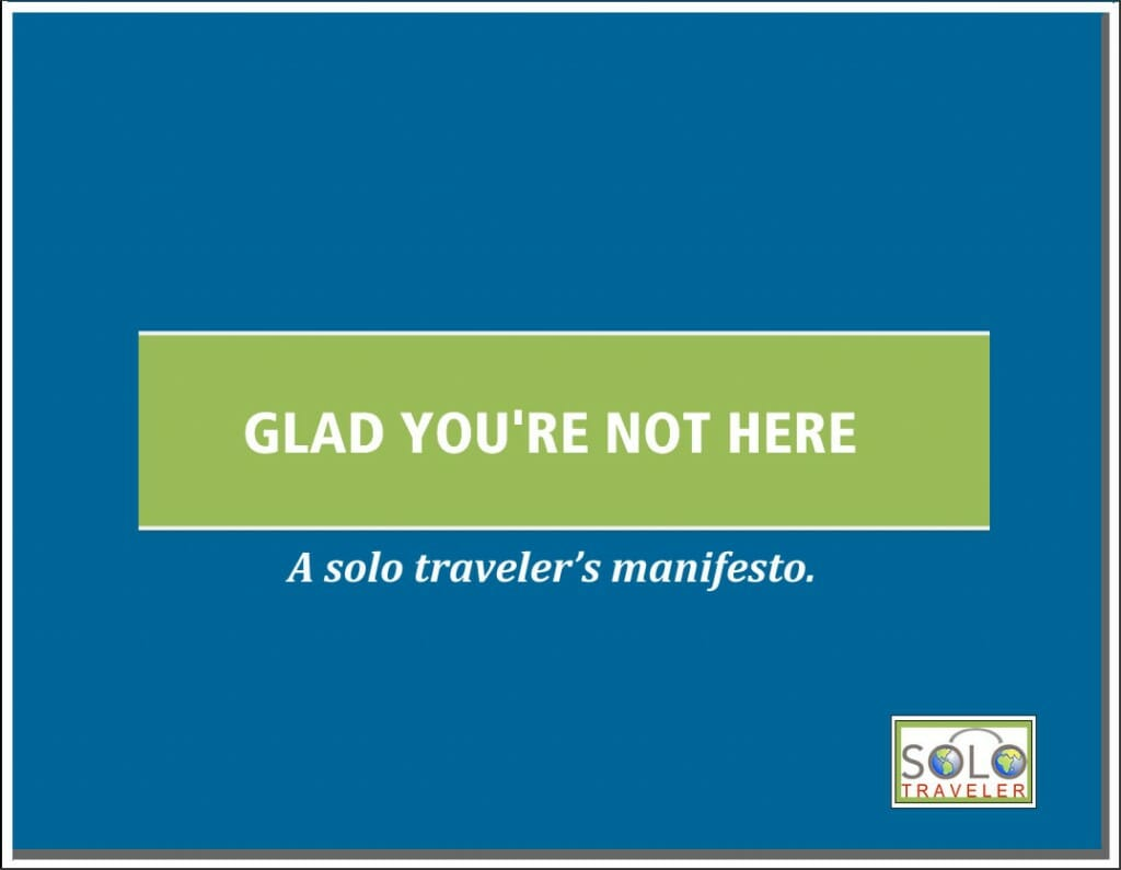 solo travel free ebook