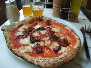 Dining Solo: The Best Pizza Just Might Be in London