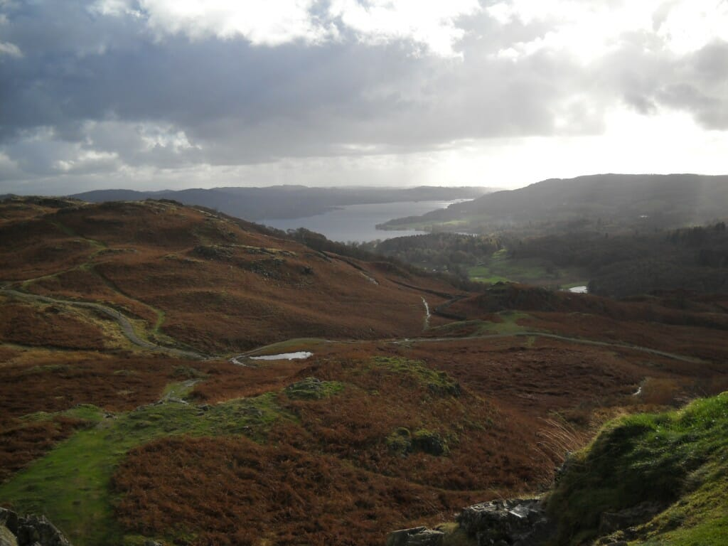 Just one of the stunning views on Zoe's quirky tour of the Lake District