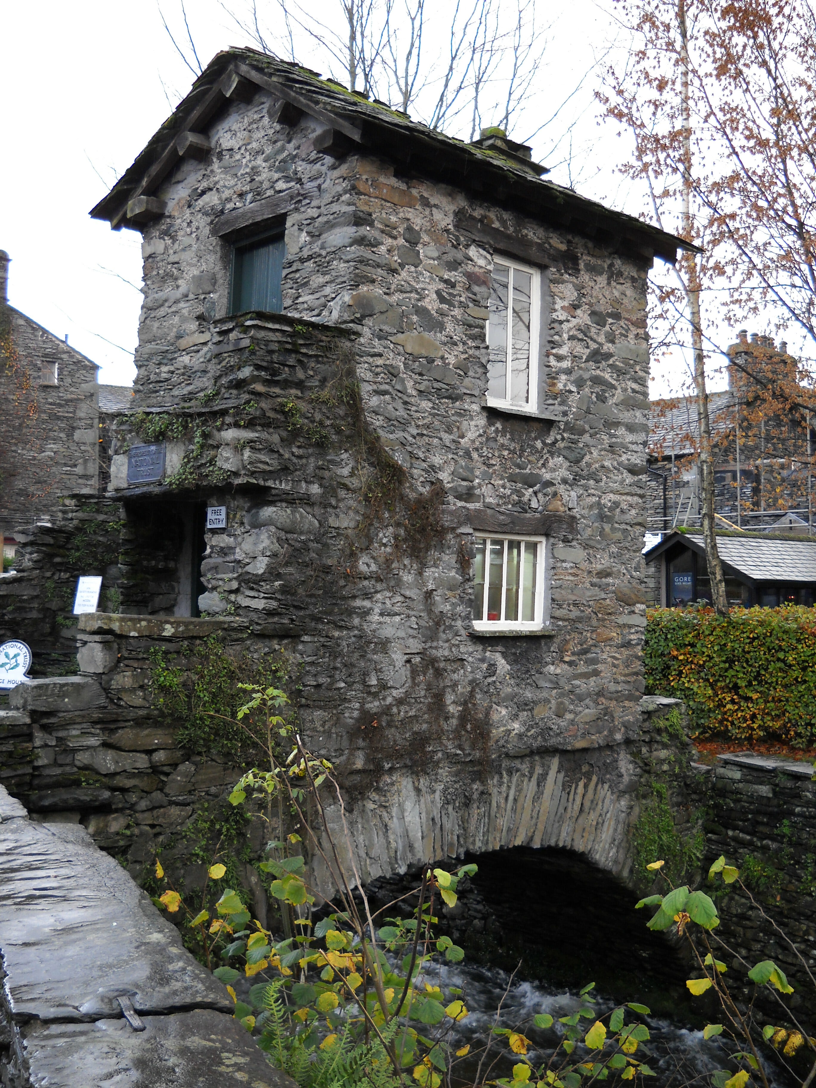 The Wonderful Slate Buildings In The Lake District