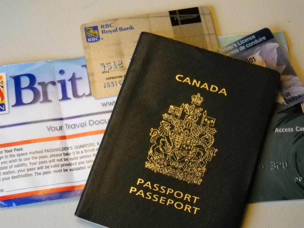 Organize your passport and a few other details and you'll be ready to go.