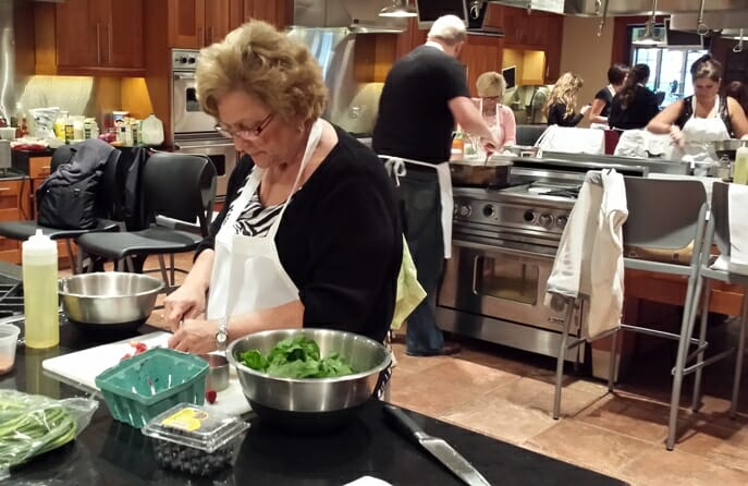 photo, image, cooking class, canandaigua