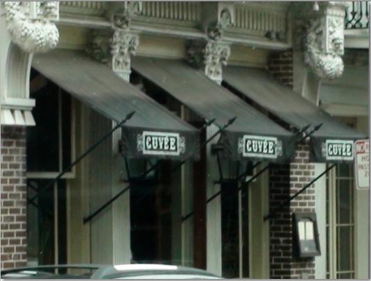 Cuvee restaurant New Oreleans