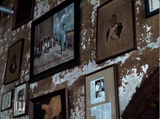 Inside of Napoleon House, New Orleans