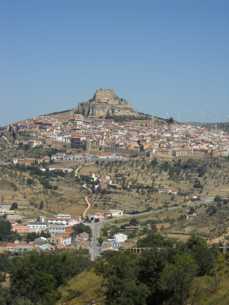 Els Ports District, Spain, mountain fortress,