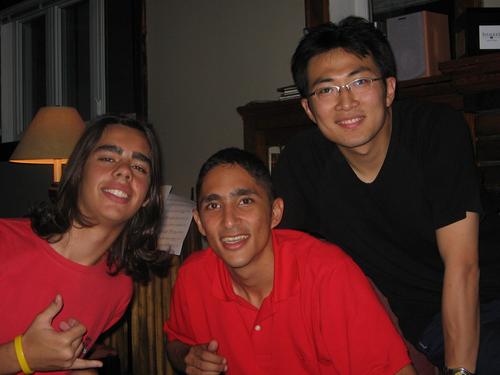 Three international Students