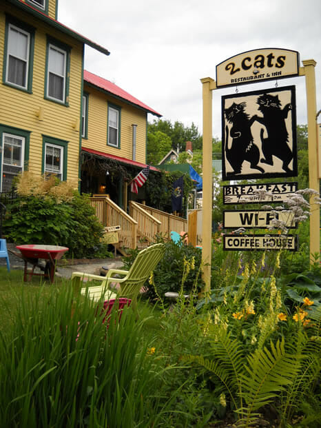 cafe in bar harbor