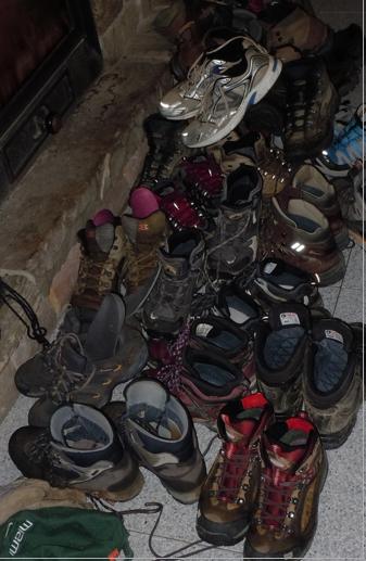 Hiking Boots Camino de Santiago