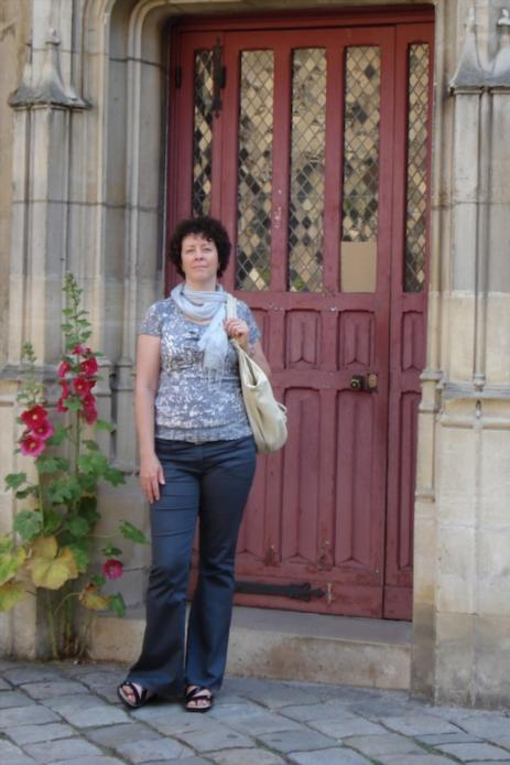 Teri at the Musee-de-Cluny
