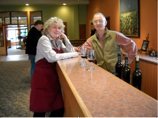 Joe Will and Jane Langdon of Strewen Winery, Niagara-on-the-Lake.