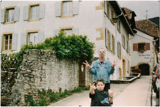 photo, image, father and son, young solo travelers