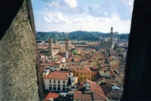 Pic of the Week: Florence from Brunelleschi's Dome