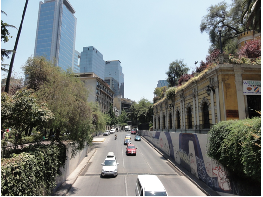 Santiago combines old with new across the city