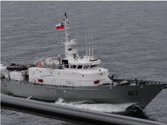 Chilean Maritime Authority Ship