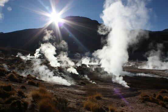 geyser field