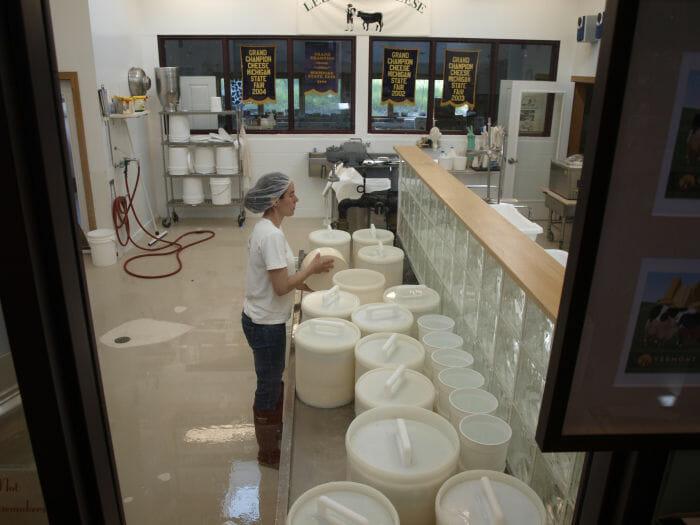Black Star Farms cheese artisans, solo hiking