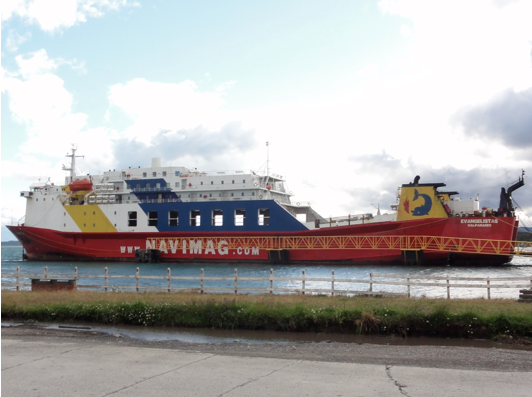 Navimag ferry, travel problems