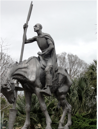 Don Quixote in Brookgreen Gardens