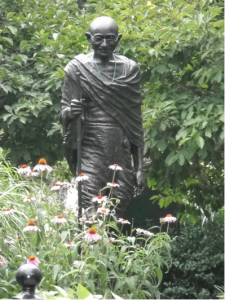 Statue of Ghandi in NYC