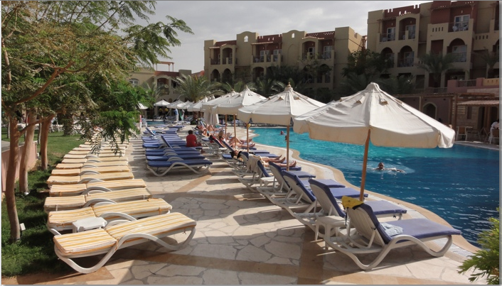 Resort on the Red Sea Aqaba photo