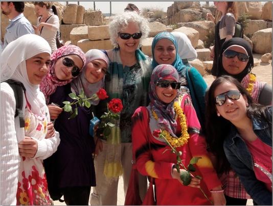 Photo of children in Jaresh Jordan.