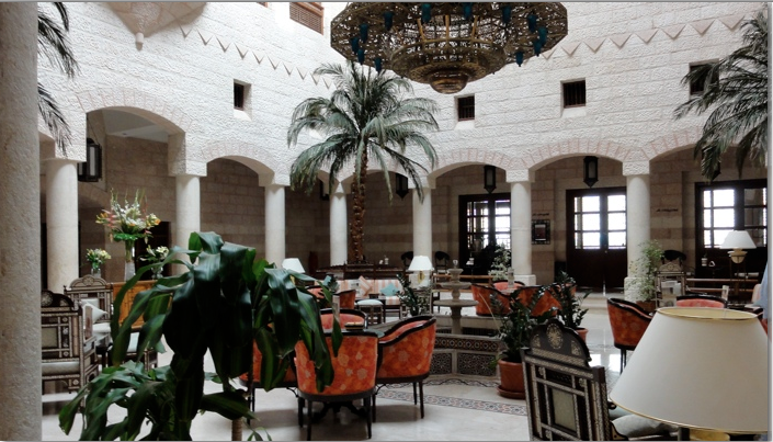 photo interior of hotel in Jordan