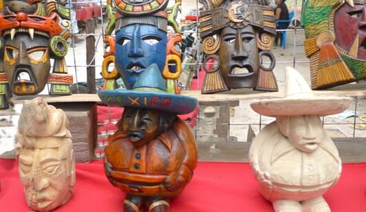 photo, image, souvenir stall, Chichen Itza