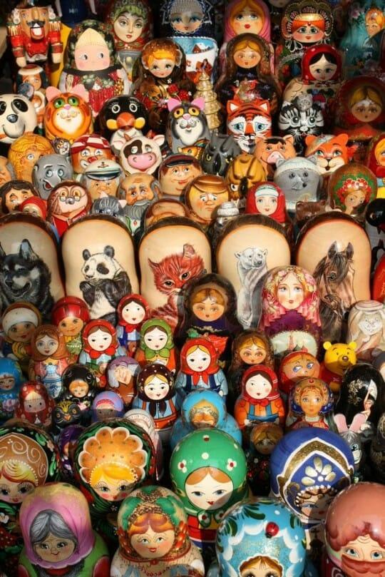 image, photo, russian dolls