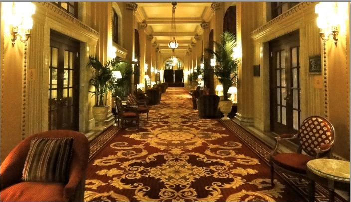 Inside the Willard Hotel