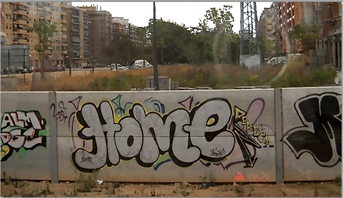 Graffitti of Home