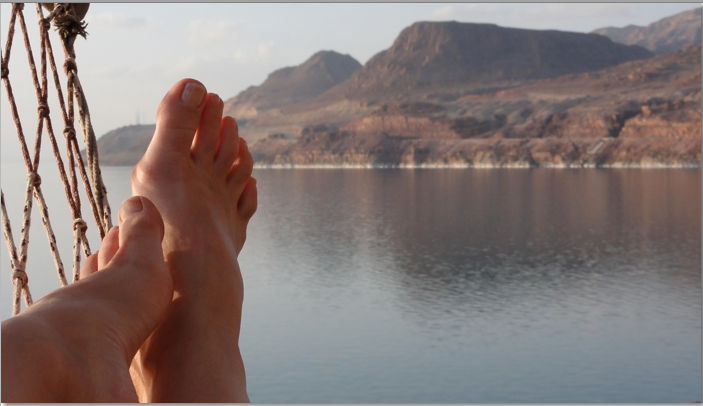 How to Float in the Dead Sea: yes, you need a lesson.