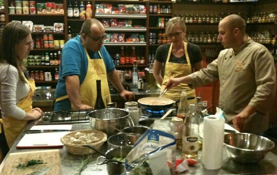 photo, image, chef parade cooking school, solo in prague