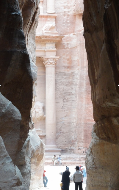 First glance at the Treasurey Building Petra photo