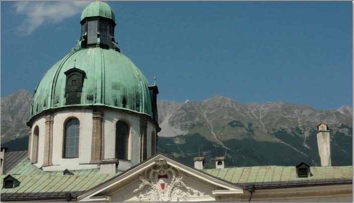 palace in Innsbruck