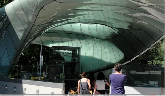 Entrance to the fenicular Innsbruck