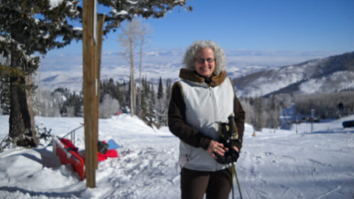 Skiing solo in Utah - still doing it!