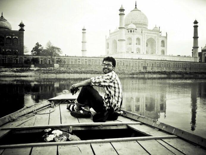 photo, image, Yamuna River, Taj Mahal