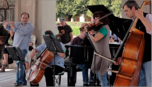 Classical music ensemble in Munich