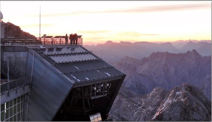 Viewing platform Zugspitze