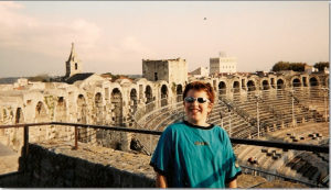 Boy at Amphitheatre in Arles, France