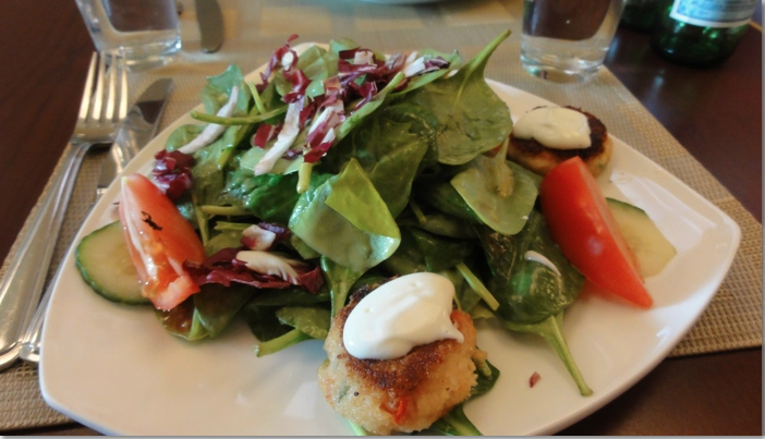 Scallop salad photo