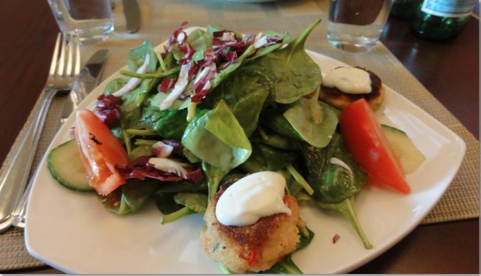 Scallop salad photo