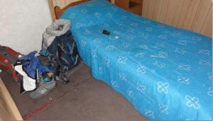 bed in hostal