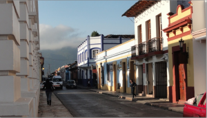 Street scene San Cristobal