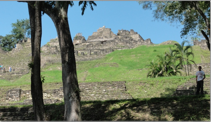 Mayan Pyramid of Tonina
