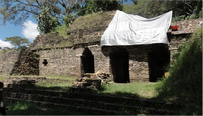 Underground Palace at Tonina