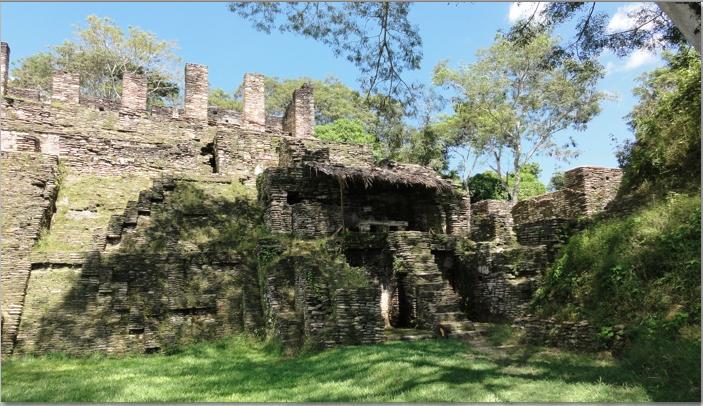 Structure at Tonina