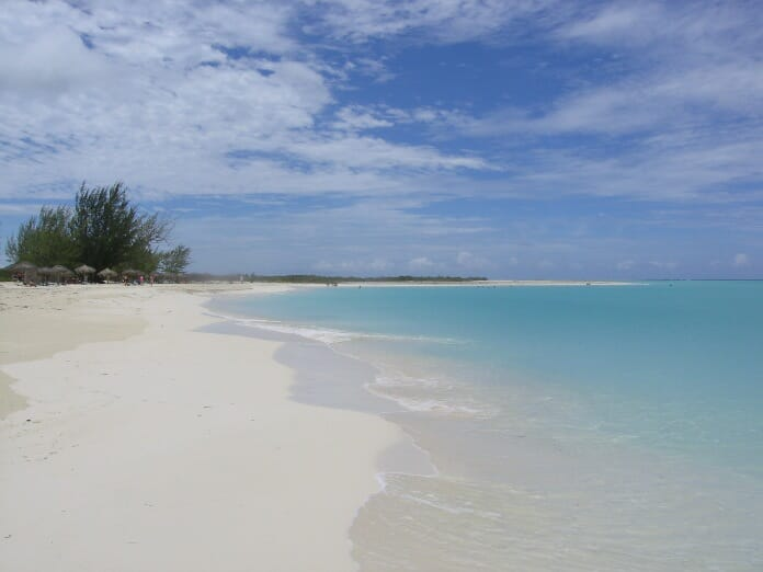 photo, image, beach, playa paraiso, cuba