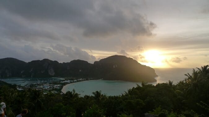 photo, image, sunset, Ko Phi Phi